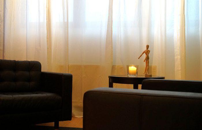 Praxisraum für Gespräche und Beratung
